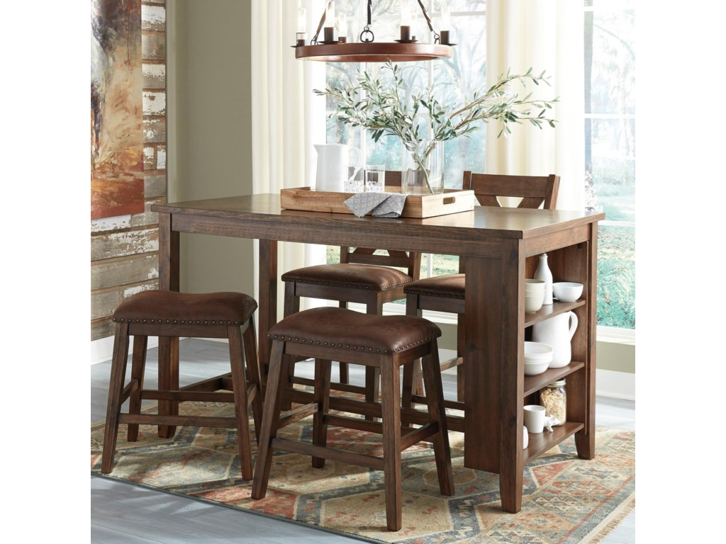 Benchcraft by Ashley ChalenyRectangular Dining Room Counter Table