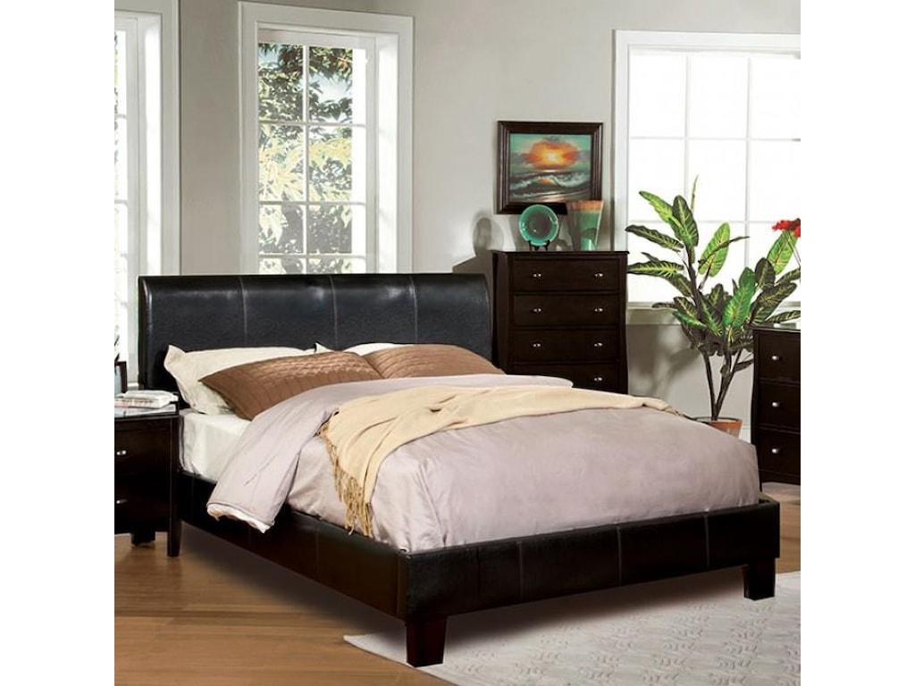 Furniture of America / Import Direct WINN PARKQueen Platform Bed