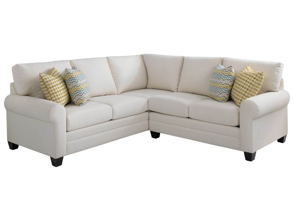 Bassett CU.2L-Shaped Sectional