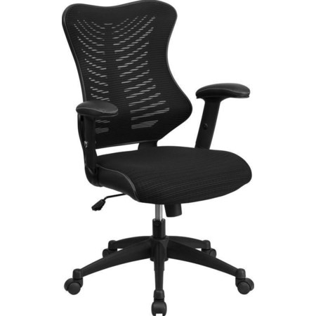 High Back Office Chair with Padded Seat
