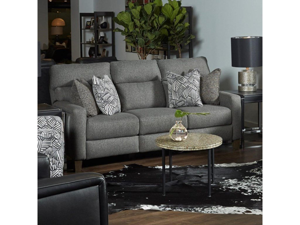 Southern Motion Mt. VernonDouble Reclining Power Sofa with Pillows