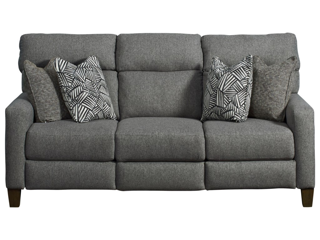 Southern Motion Mt. VernonPower Headrest Sofa with Pillows