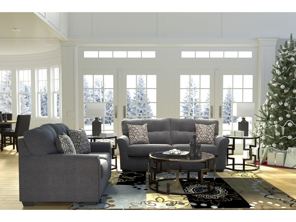 Signature Design by Ashley Neolan Sofa and Loveseat | Value City ...