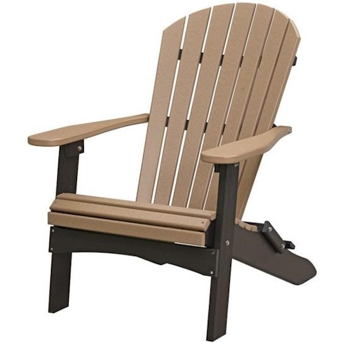 Berlin Gardens Comfo Back Series Folding Adirondack Chair | Westrich ...