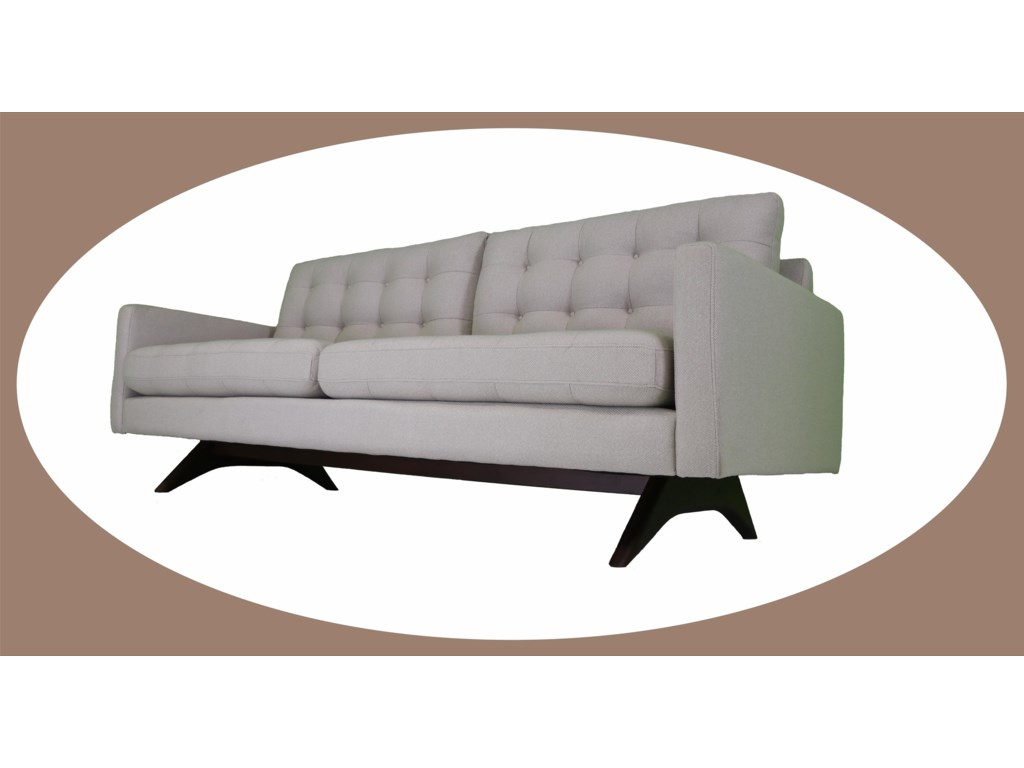 Reeds Trading Company RoxyMid Century Modern Sofa