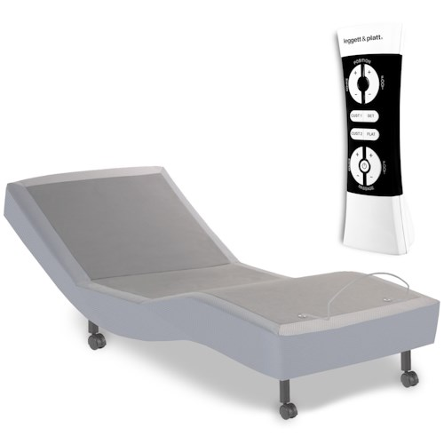 Fashion Bed Group Simplicity 2.0  Simplicity 2.0 Twin Adjustable Bed Base with Full Body Massage and Wireless Remote