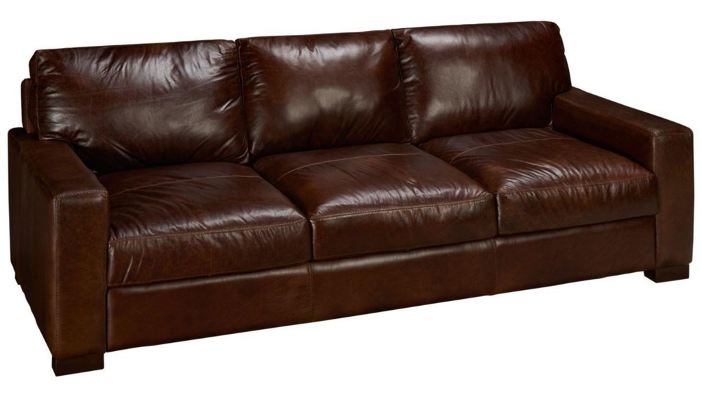 soft line 4522 leather sofa - hudson's furniture - sofas