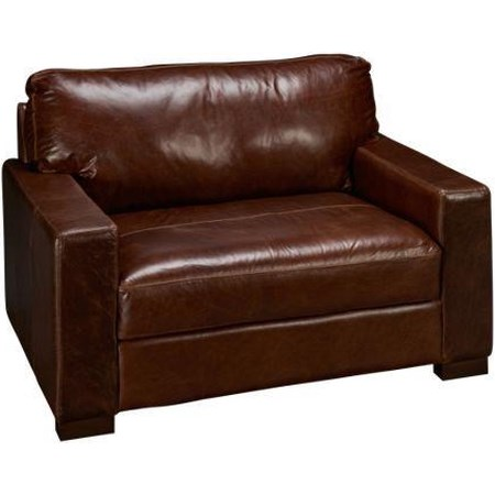 Leather Chair & 1/2