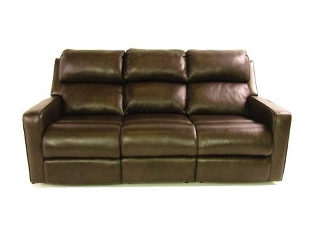 Recline It Recline ItLeather Sofa with motion