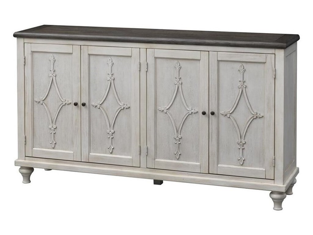 Coast to Coast Imports St. ClaireFour Door Media Credenza