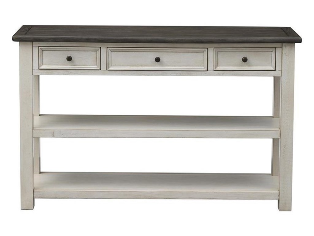 St. Claire Three Drawer Console Table by Coast to Coast Imports at Zak\'s  Home