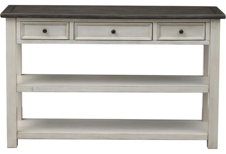 St Claire Three Drawer Console Table