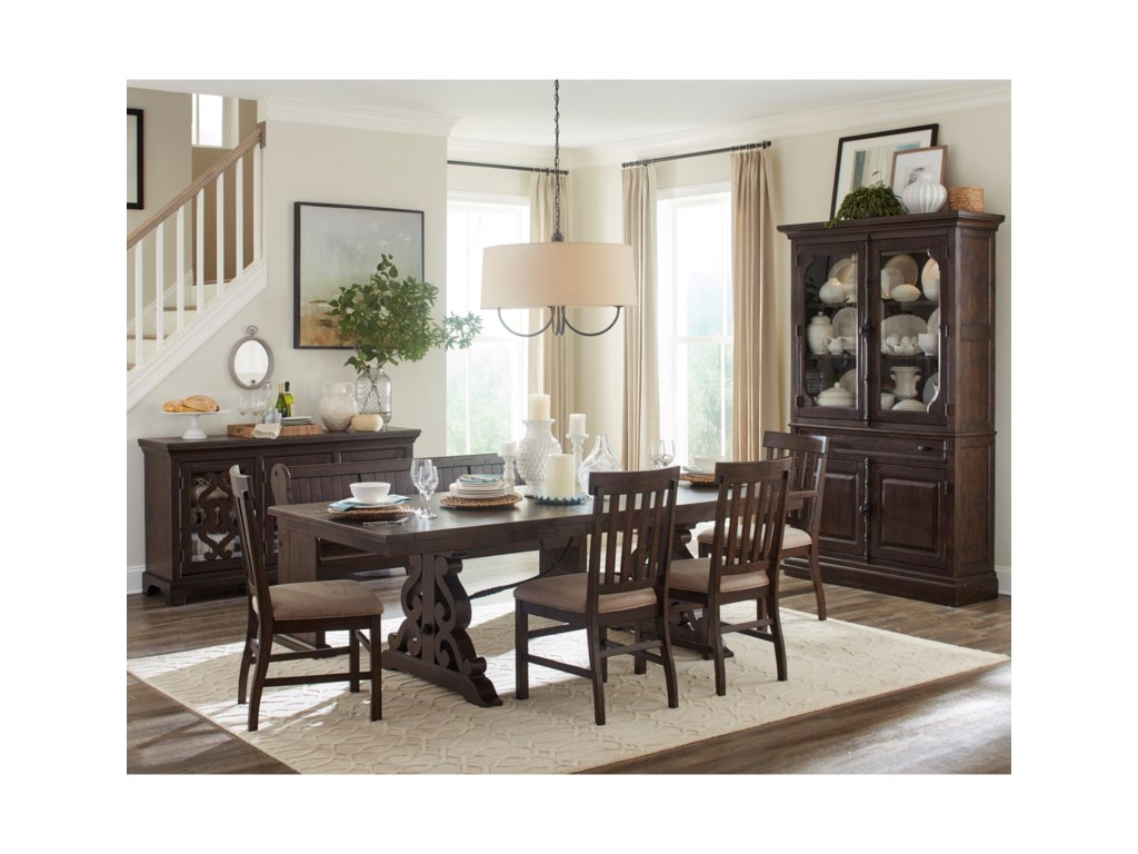 Magnussen Home St. Claire6 Pc Dining Set w/ Bench