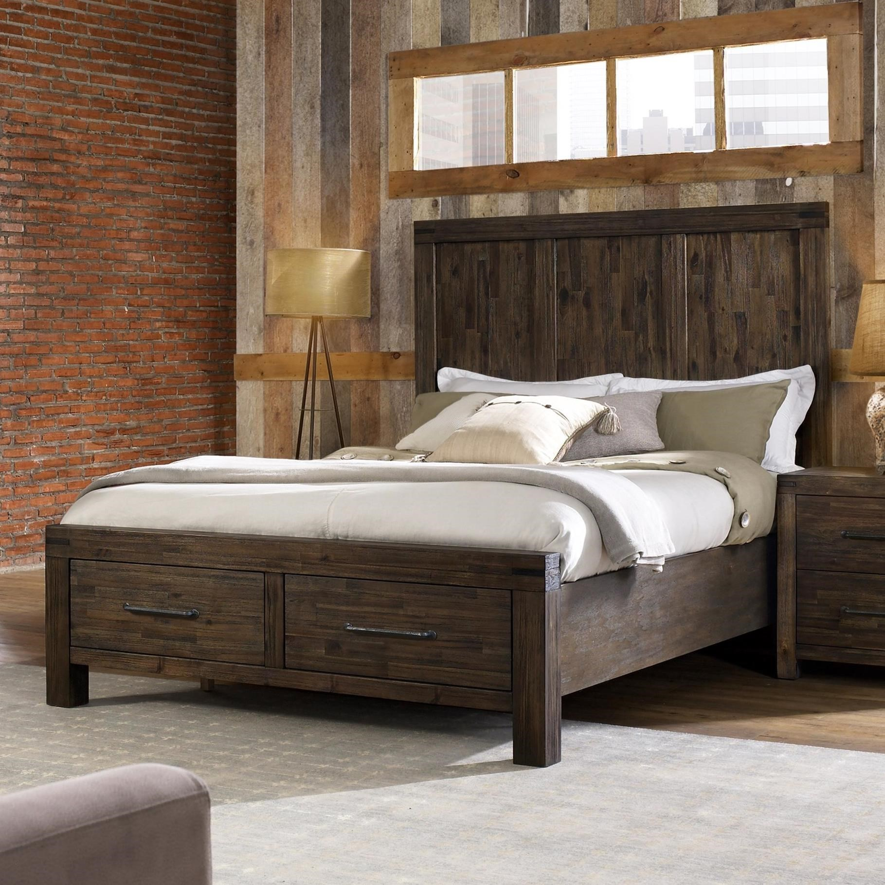 Genial Hillsdale Gannon Modern Queen Bed With Footboard Storage