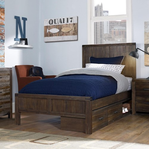 Hillsdale St. Croix Youth Twin Panel Bed