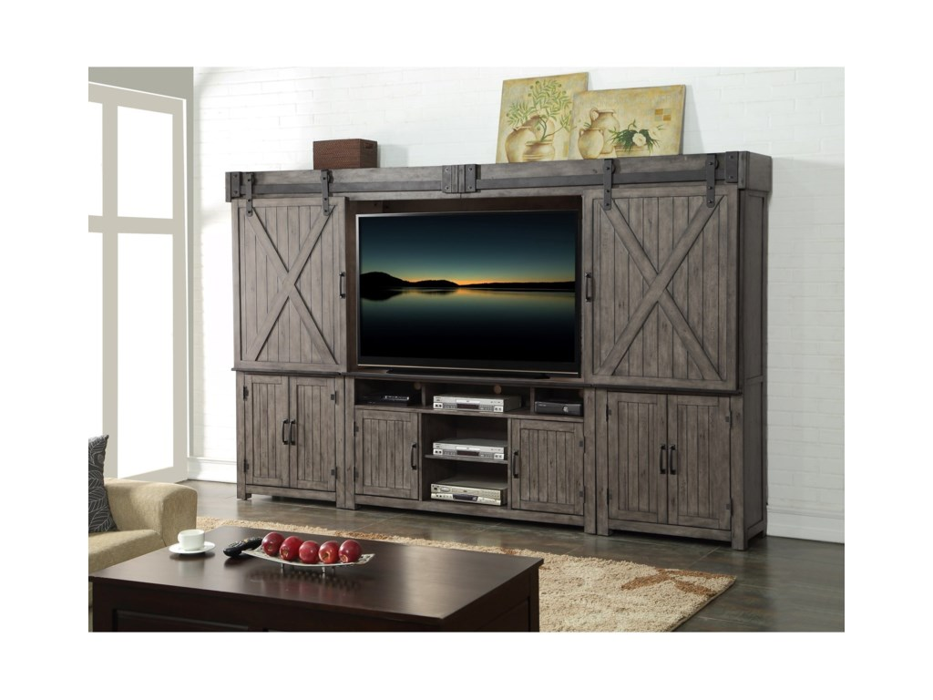 Legends Furniture Storehouse CollectionEntertainment Wall Unit