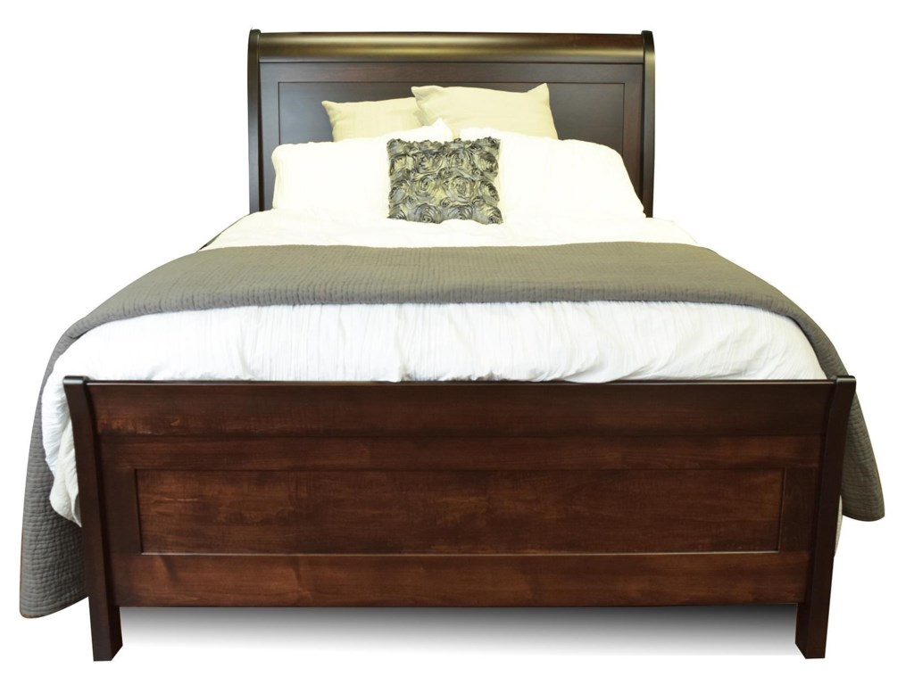Amish Furniture WillemingtonKing Bed