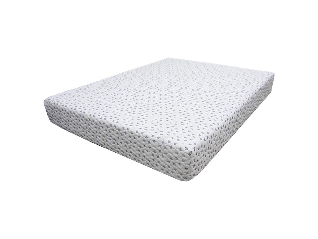 Comfort Bedding Urban Memory FoamCal King 8