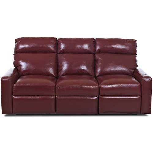 Comfort Design Ausie II Reclining Sofa with Power Inside Handle