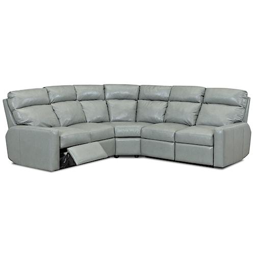 Comfort Design Ausie II Reclining Sectional Sofa Group