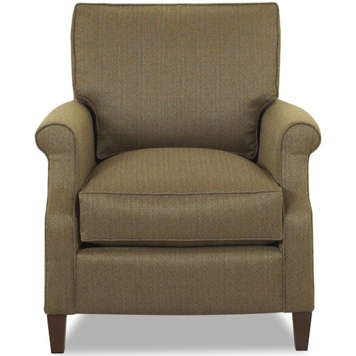 Comfort Design Chairman Transitional Upholstered Arm Chair