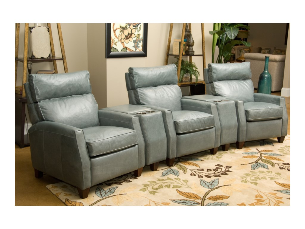 Comfort Design CollinsThree Seat Reclining Home Theater Group