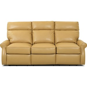 Comfort Design Leslie II Reclining Sofa With Inside Handle Release | Stuckey Furniture | Reclining Sofa