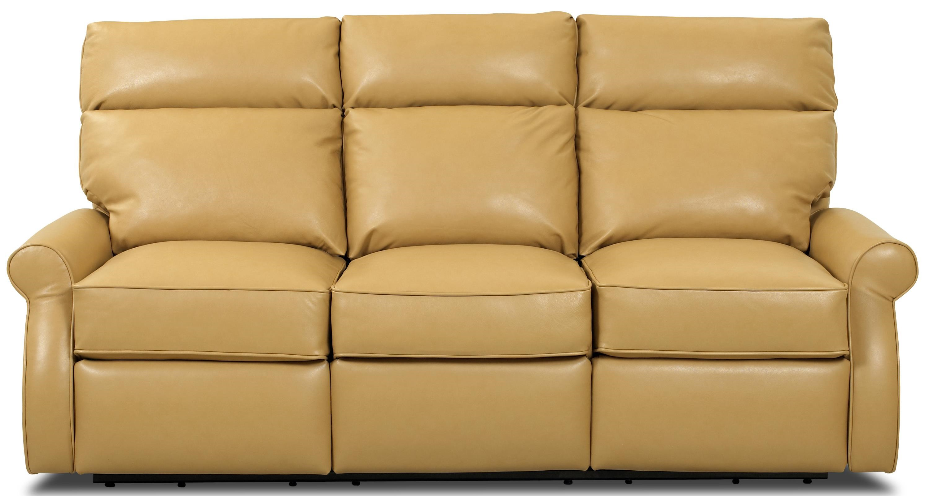 Comfort Design Leslie II Reclining Sofa With Power Wand Release