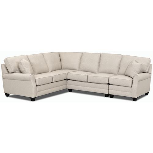 Comfort Design Loft Sectional Sofa Group