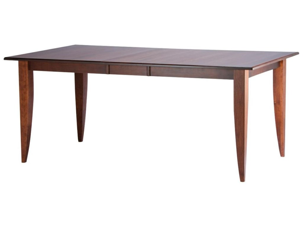 Shown in a Cherry Chocolate Finish with Saber Legs