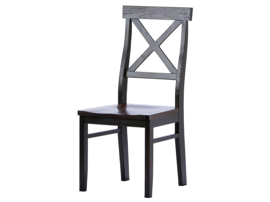 Two-Tone Finish with Coffee Frame and Cherry Chocolate Seat