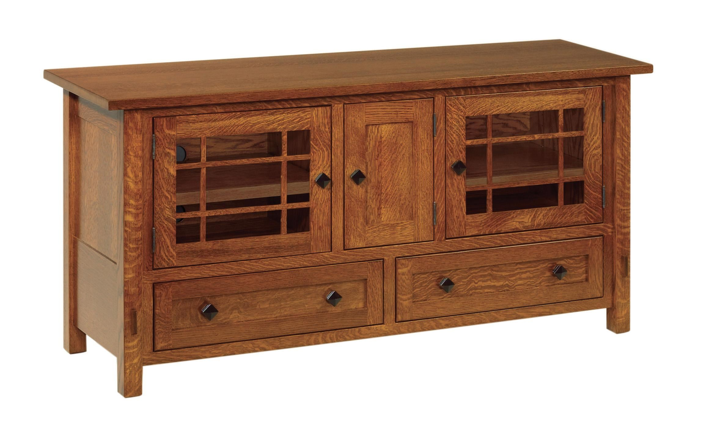 Conrad Grebel Springhill TV Cabinet with 3 Doors and 2 Drawers