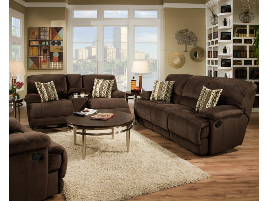 VFM Signature 0588Recline Console Loveseat