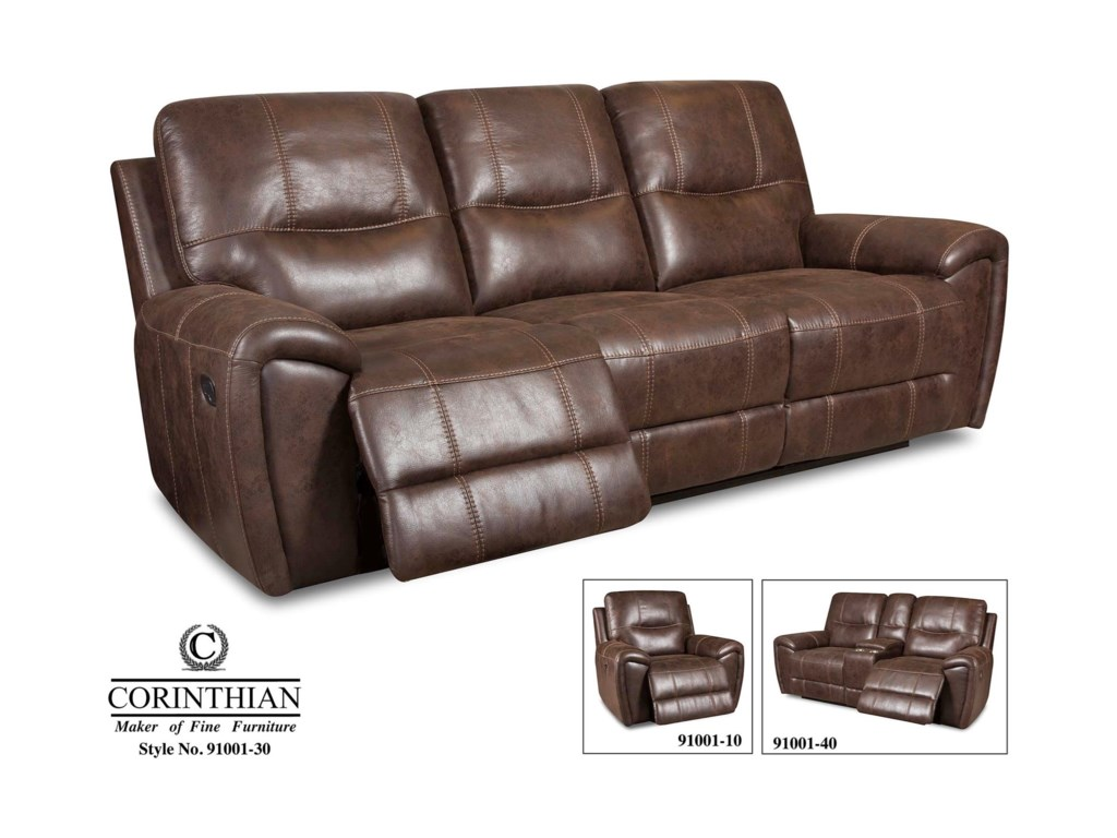 Corinthian 91001Power Reclining Sofa
