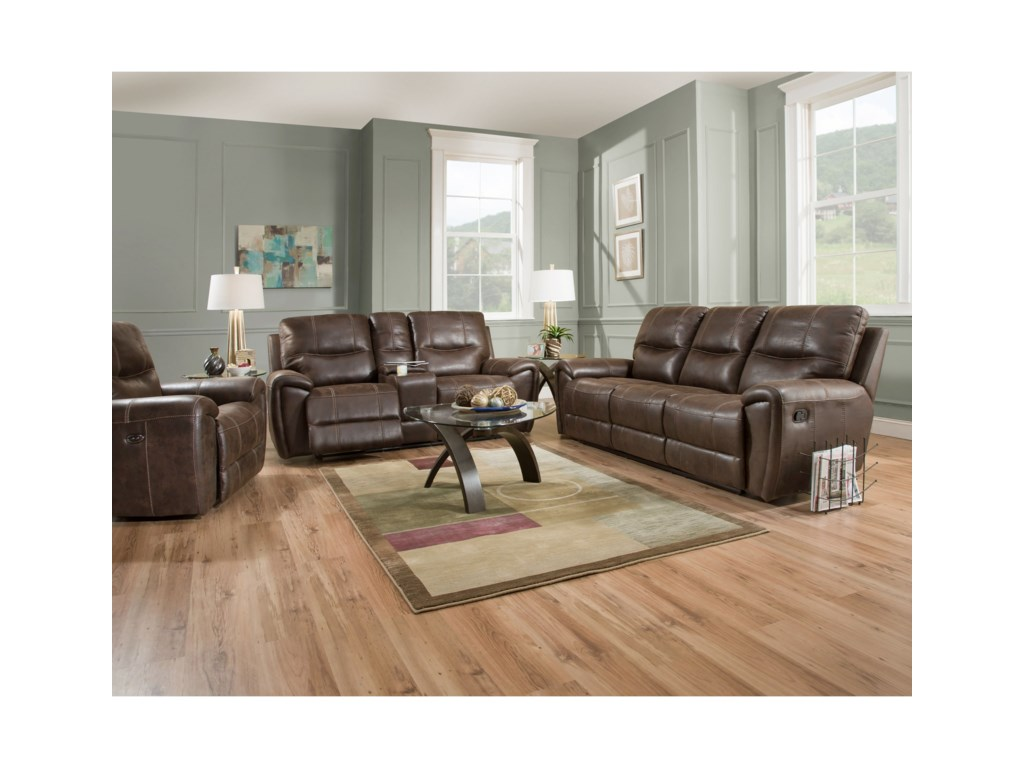 VFM Signature 91001Console Power Reclining Loveseat