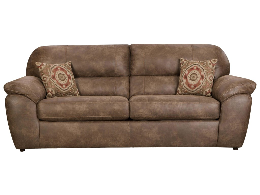 Corinthian 18a0 casual plush sofa