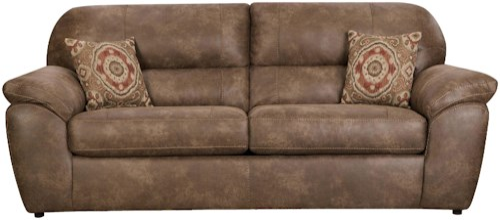 Corinthian 18A0 Casual Plush Sofa