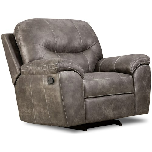 Corinthian 18A0 Casual Plush Recliner