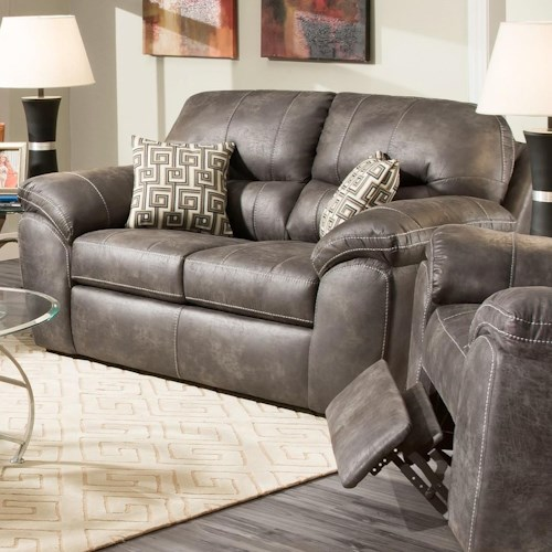 Corinthian 18A0 Casual Plush Loveseat