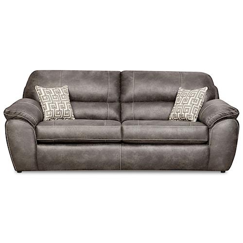 Corinthian 18A0 Casual Plush Sofa Sleeper