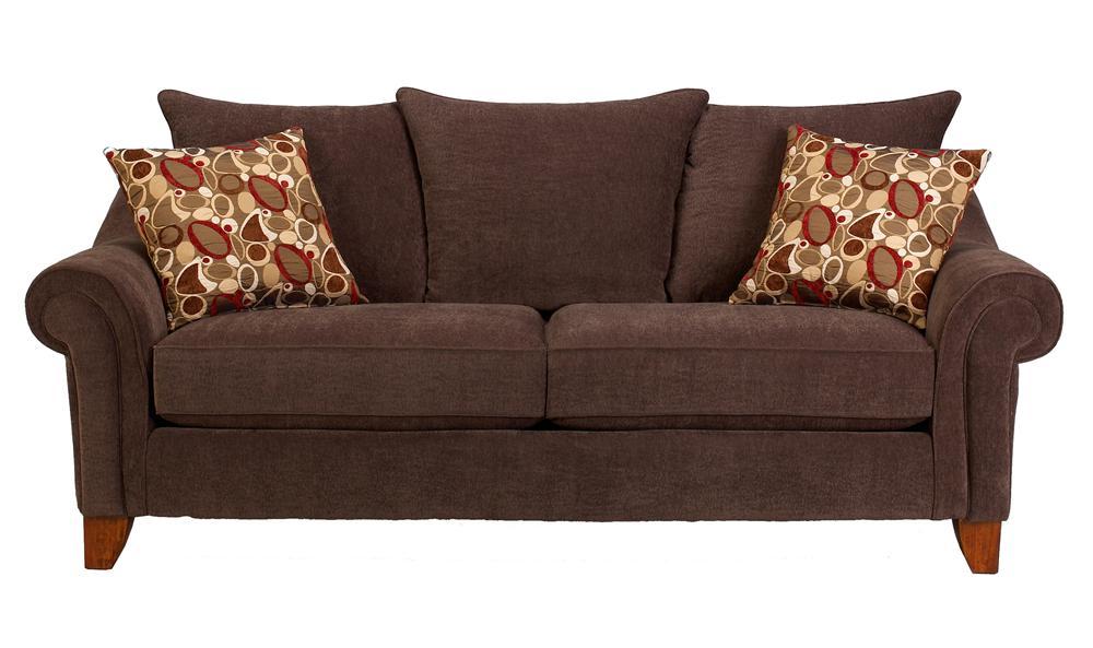 Corinthian 2820 Cebu/Evo Copper Sofa