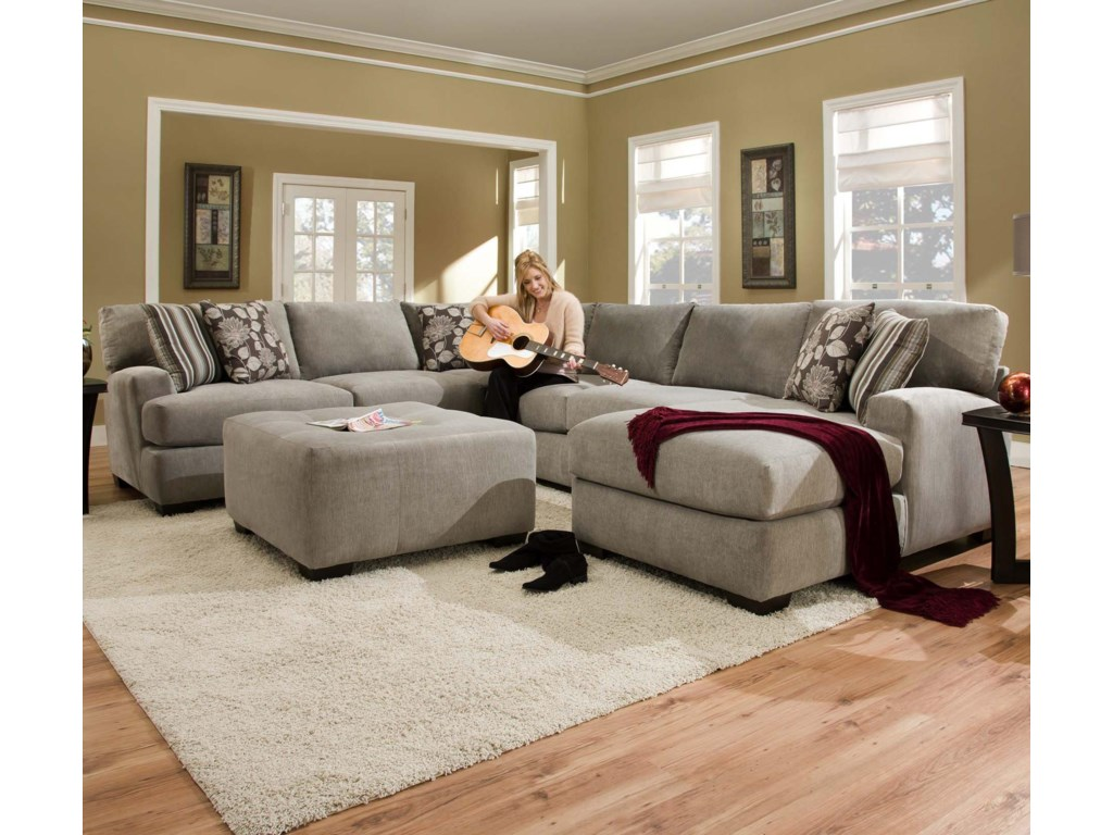 Corinthian 29A0Sectional Sofa