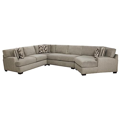 Corinthian 29A0 Sectional Sofa with 5+ Seats
