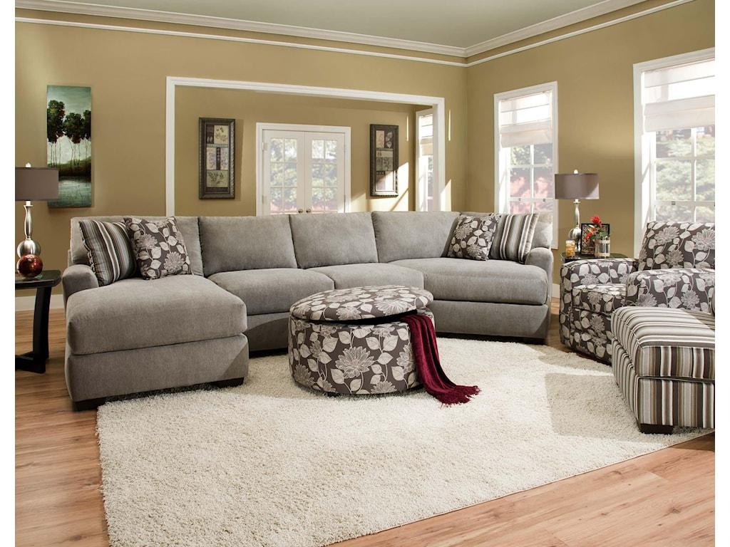 Corinthian 29A0Sectional Sofa