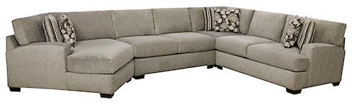 Corinthian 29A0 Sectional Sofa that Seats 5+