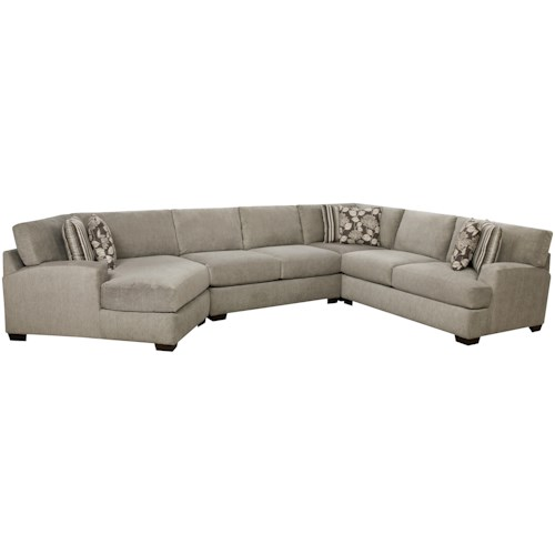 Corinthian 29A0 Sectional Sofa that Seats 5+