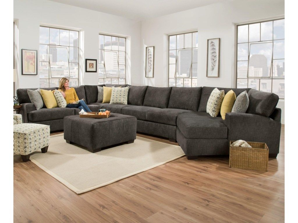 Corinthian 29C0Extra Large Sectional for 6