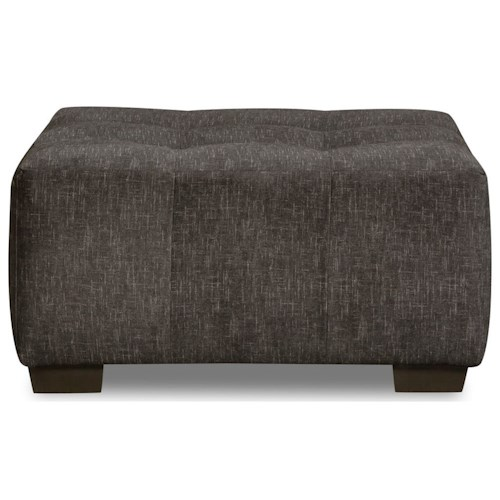 Corinthian 29C0 Cocktail Ottoman with Tufted Seat