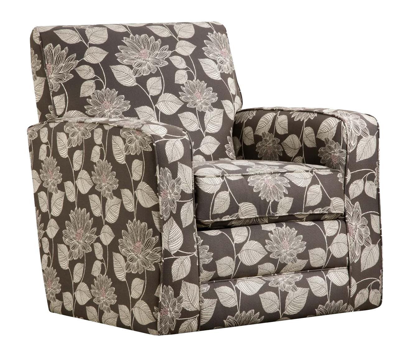 corinthian josephine ac1529a lilly fog swivel accent chair