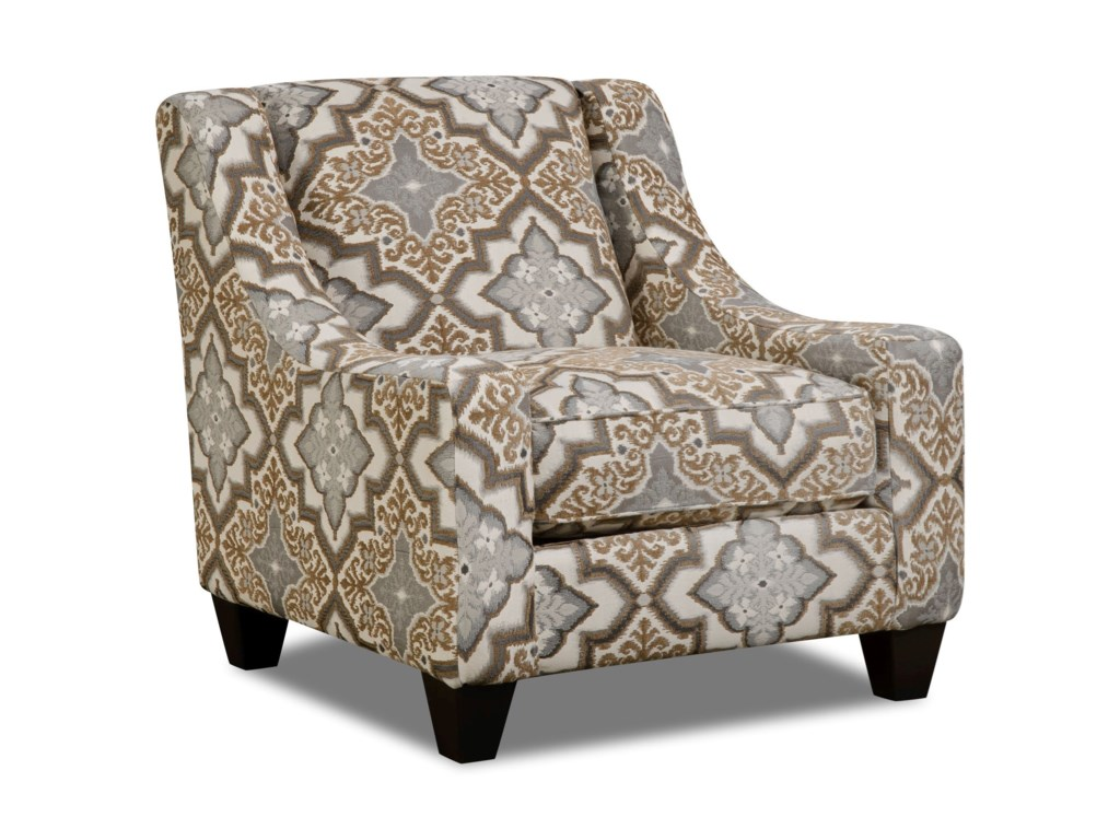 Corinthian 34B0Accent Chair